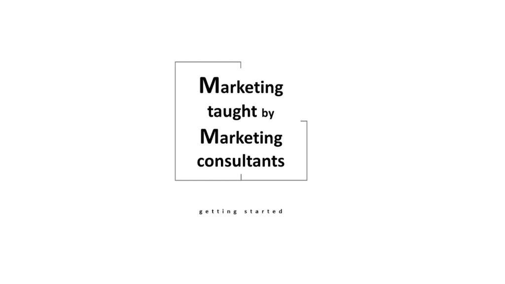 【V-Training】マーケティング戦略 – マーケティングの位置づけの変化 Part1